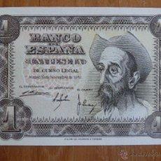 Billetes españoles: BILLETE DE 1 PESETAS. 1951 SERIE N. PLANCHA S/C. Lote 52144753