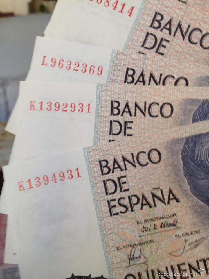 500 PESETAS DE 1979 CAPICUA PLANCHA DE LUJO (Numismática - Notafilia - Billetes Españoles)