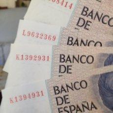 Billetes españoles: 500 PESETAS DE 1979 CAPICUA PLANCHA DE LUJO. Lote 91658523