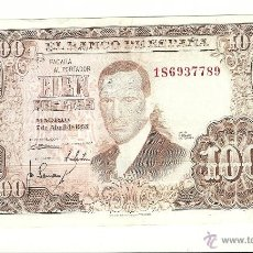 Billetes españoles: 100 PTS-1953 J.ROMERO. Lote 53257077