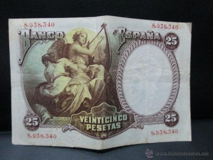 Billetes españoles: 25 pesetas madrid 25 de abril 1931 republica española bc - Foto 2 - 53303162