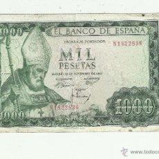 Billetes españoles: 1000 PTAS -19-11-1965 SERIE N1. Lote 53604290