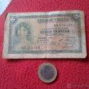 Billetes españoles: ANTIGUO BILLETE BANCO DE ESPAÑA 5 CINCO PESETAS AÑO 1935 SERIE B IDEAL COLECCION VER FOTO/S Y DESCRI. Lote 53645183