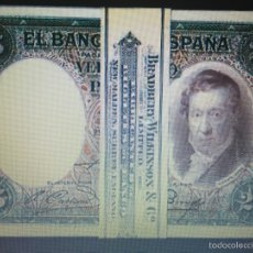 Billetes españoles: 25 PESETAS DE 1931 PLANCHA DE LUJO. Lote 98482914