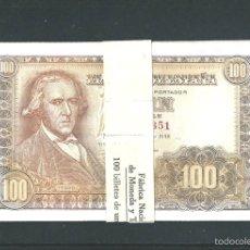 Billetes españoles: 100 PESETAS DE 1948 PLANCHA DE LUJO. Lote 97493588