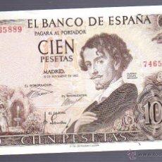 Billetes españoles: BILLETE. 100 PESETAS. 1965. SIN SERIE. GUSTAVO ADOLFO BECQUER. Lote 54194410