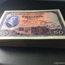 Billetes españoles: 50 PESETAS DE 1927 PRECIOSO EBC REF 126. Lote 97493452