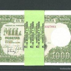 Billetes españoles: 1000 PESETAS DE 1951 PLANCHA DE LUJO REF84267. Lote 133173134