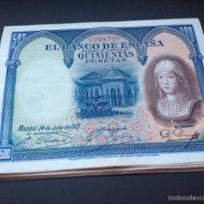 Billetes españoles: 500 PESETAS DE 1927 REINA ISABEL PRECIOSO REF 787433. Lote 114722827