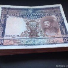 Billetes españoles: 1000 PESETAS DE 1925 EBC PRECIOSO REF74532. Lote 121633382