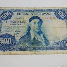 Billetes españoles: BILLETE 500 PESETAS.1954.BC. Lote 55288046