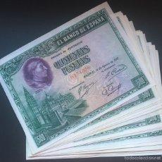 Billetes españoles: 500 PESETA DE 1928 EBC REF 643. Lote 58544809