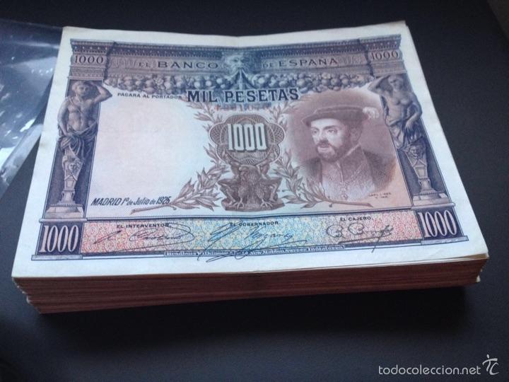Billetes españoles: 1000 peseta de 1925 ebc ref 64353 - Foto 2 - 90361279