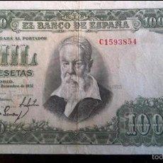 Billetes españoles: BILLETE 1000 PESETAS DE JOAQUÍN SOROLLA. Lote 55150817