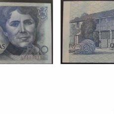 Billetes españoles: 500 PESETAS DE 1979 SERIE A, NÚMERO BAJO, SIN CIRCULAR/PLANCHA. Lote 58096284