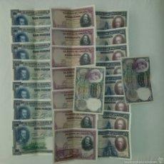 Billetes españoles: LOTE BILLETES 1925.. Lote 58497205