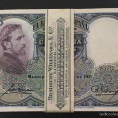Billetes españoles: 50 PESETAS DE 1931 S/C DE TACO PLANCHA LUJO 64278. Lote 97493518