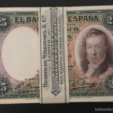 Billetes españoles: 25 PESETAS DE 1931 S/C DE TACO PLANCHA LUJO REF 72694. Lote 134367246