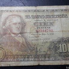 Billetes españoles: BILLETE 100 PESETAS DE 1948 FRANCISCO BAYEU. Lote 60584849