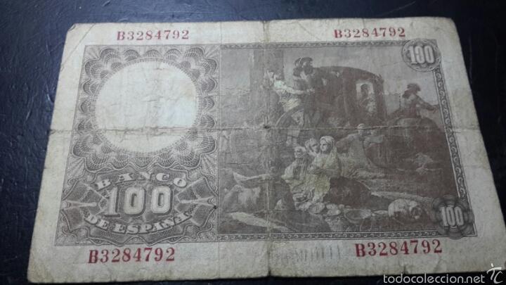 Billetes españoles: Billete 100 pesetas de 1948 francisco bayeu - Foto 2 - 60584849