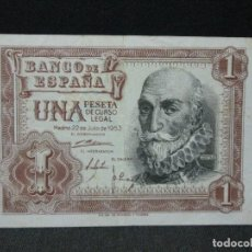 Billetes españoles: 1 PESETA 22 DE JULIO 1953 MADRID. Lote 203488611