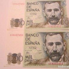 Billetes españoles: 1000 PESETAS DE 1979 SERIE 1V-453 SOLO 1 SIN CIRCULAR. Lote 67205741