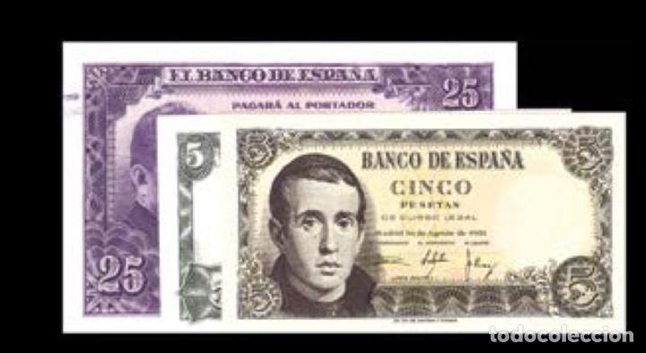 LOTE DE 3 BILLETES ESTÁDO ESPAÑOL REF 757 (Numismática - Notafilia - Billetes Españoles)