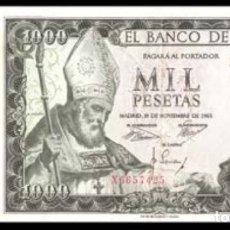 Billetes españoles: LOTE DE 3 BILLETES 500 Y 1000 DE 1951/1954/1965 REF 754. Lote 90352904