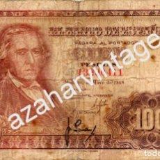 Billetes españoles: BILLETE 100 PESETAS 1948 ,, SERIE I , EL DE LA FOTO. Lote 69991437