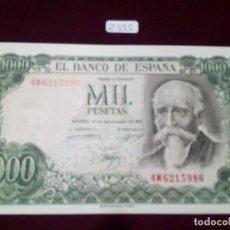 Billets espagnols: 1000 PESETAS ECHEGARAY. 17 DE SEPTIEMBRE DE 1971- S.C. Lote 72880875