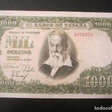 Billetes españoles: 1000 PESETAS DE 1951 SIN SERIE-959 EXCELENTE BIEN CONSERVADO. Lote 73057151