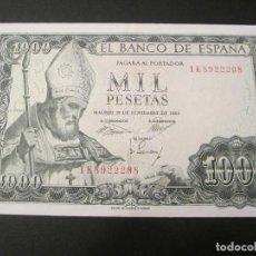 Billetes españoles: 1000 PESETAS DE 1965 SERIE 1K-208 EXCELENTE BIEN CONSERVADO. Lote 73059079