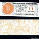 Billetes españoles: CATALUÑA BILLETE OBLIGACION DE 6,875 PESTAS AÑO 1936 SERIE 075703 (GUERRA CIVIL ESPAÑOLA)CUPO 11. Lote 163134422