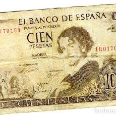 Billetes españoles: BILLETE 100 PESETAS 1965. Lote 77899525