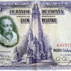 Billetes españoles: BILLETE DE 100 PESETAS DE 1928. Lote 77899665