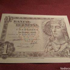 Billetes españoles: BILLETE UNA PESETA 1948 SC. Lote 78252949