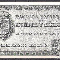 Billetes españoles: MUESTRA PARA ENSAYO PRUEBA CALCOGRAFICA 509 FNMT S/C. Lote 78858169