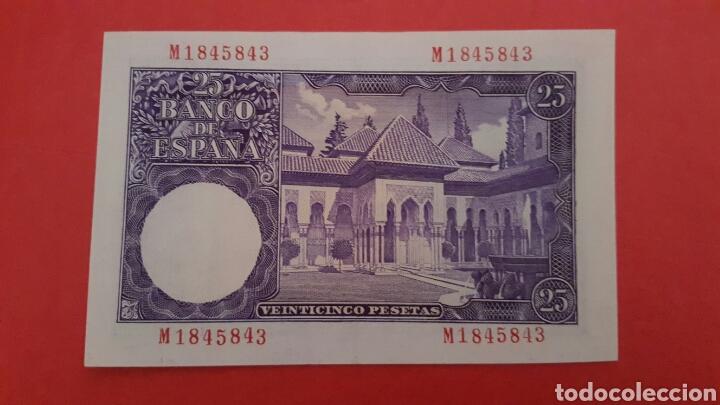 Billetes españoles: 25 PESETAS DE 1954 SC SERIE M1845843 - Foto 2 - 79448955