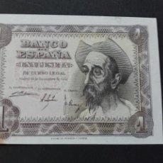 Billetes españoles - Billete plancha una peseta noviembre 1951 - 80059285
