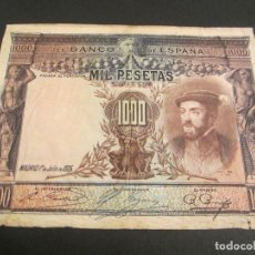 Billetes españoles: 1000 PESETAS DE 1925 SIN SERIE-128. Lote 80316569