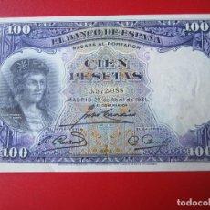 Billetes españoles: BILLETE DE 100 PESETAS. 1931. MADRID. Lote 80674286