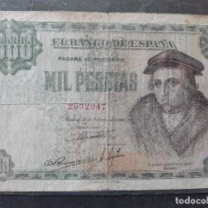Billetes españoles: MIL PESETAS FEBRERO 1946. Lote 81689228