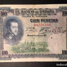 Billetes españoles: BILLETE 100 PESETAS 1925. Lote 83855132