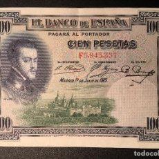 Billetes españoles: BILLETE 100 PESETAS 1925. Lote 83855252