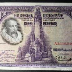 Billetes españoles: BILLETE 100 PESETAS 1928. Lote 83856276