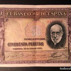Billetes españoles: BILLETE 50 PESETAS 1935. Lote 83964028