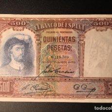 Billetes españoles: BILLETE 500 PESETAS 1931. Lote 83964156