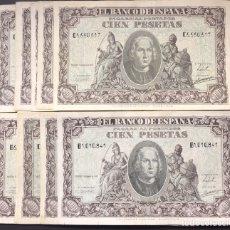 Billetes españoles: 100 PESETAS DE 1940 COLÓN MUY BONITOS REF 754. Lote 97405808