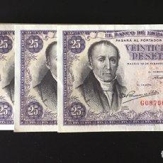 Billetes españoles: 25 PESETAS 1946 ESTRADA MUY BUENO RARO REF 8536. Lote 98092347