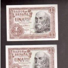 Billetes españoles: BILLETES DE ESPAÑA FRANCO . Lote 88118920